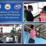 Thermal Scanner installed at the Port of Cagayan de Oro